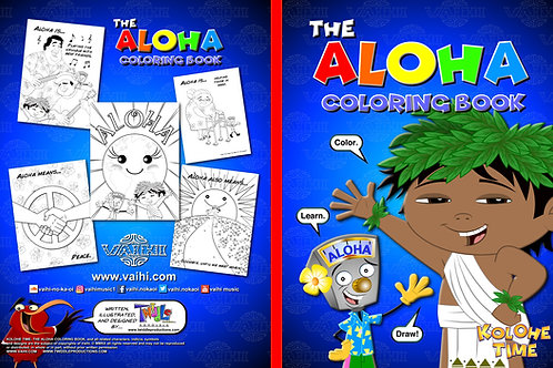 The Aloha Coloring Book