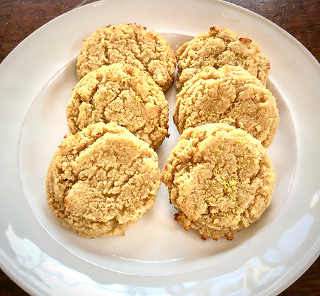 Lemon Zest Ricotta Cookie