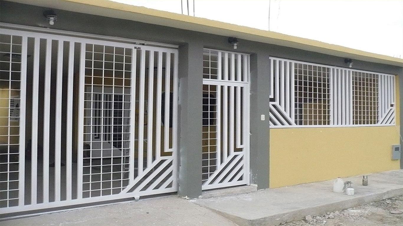 Puertas autom ticas intesmex m xico d f cotiza - Modelos de rejas para casas ...