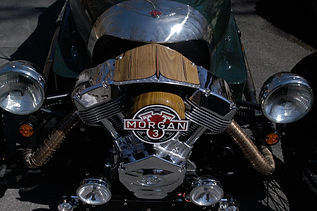 Morgan Three Wheeler Air Cleaner Dress Up Kit