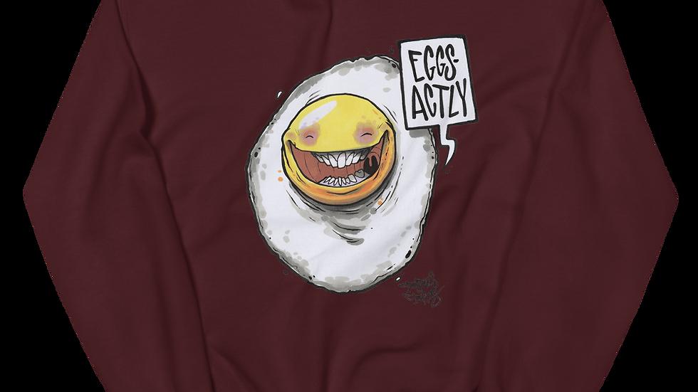 EGGS ACTLY Unisex Sweatshirt