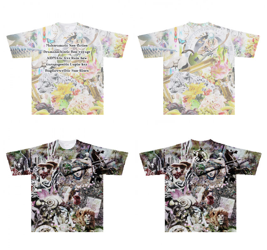 Over Print T-shirts [2018年制作out of stock]