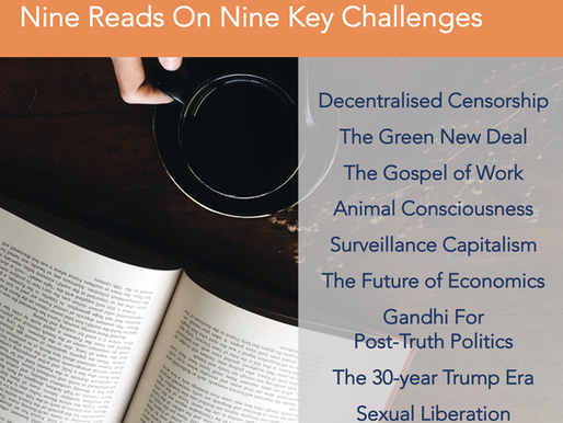 Nine Recommended Reads on Nine Big Issues