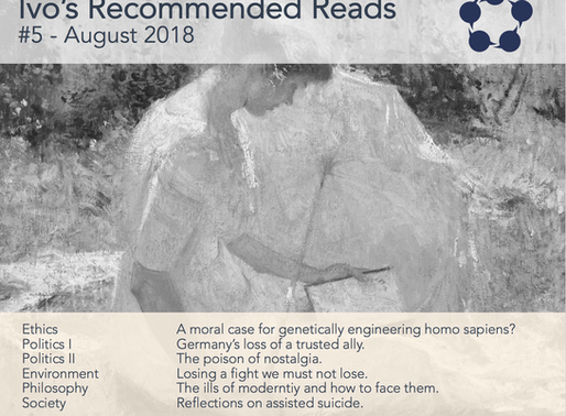 Ivo's Recommended Reads #5/2018