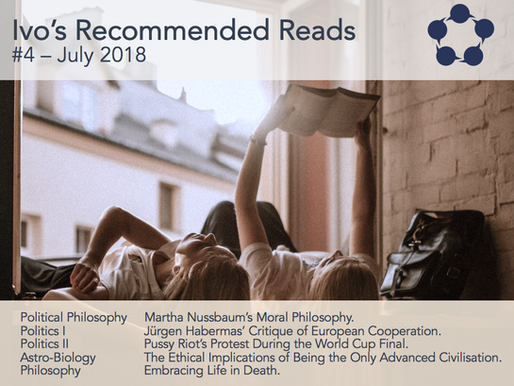 Ivo's Recommended Reads #4/2018