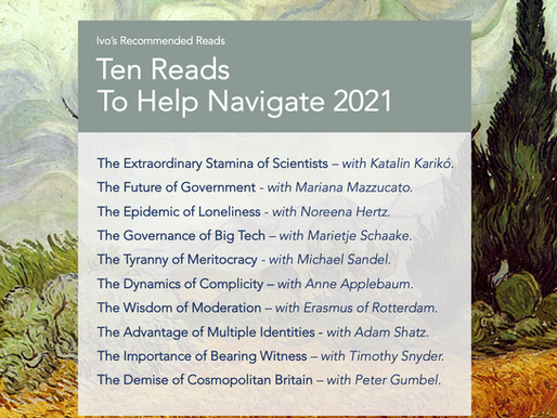 Ten Reads to Help Navigate 2021