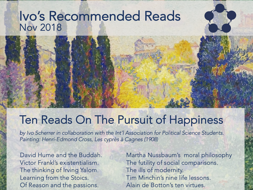 Ten Reads On the Pursuit of Happiness