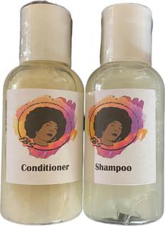 FBS Shampoo, Conditioner, Growth Oil & Detangler