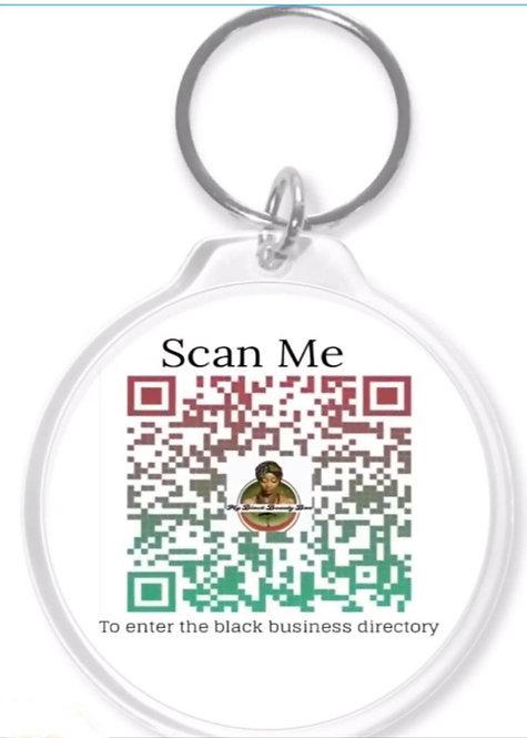 Directory QR Keychain