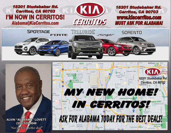 "Alvin ""Alabama"" Lovett Kia of Cerritos Salesman"