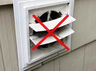 hide a vent attractive way to hide exterior vents