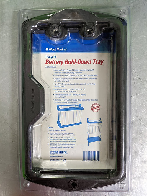 West Marine Group 24 Battery Hold Down Tray
