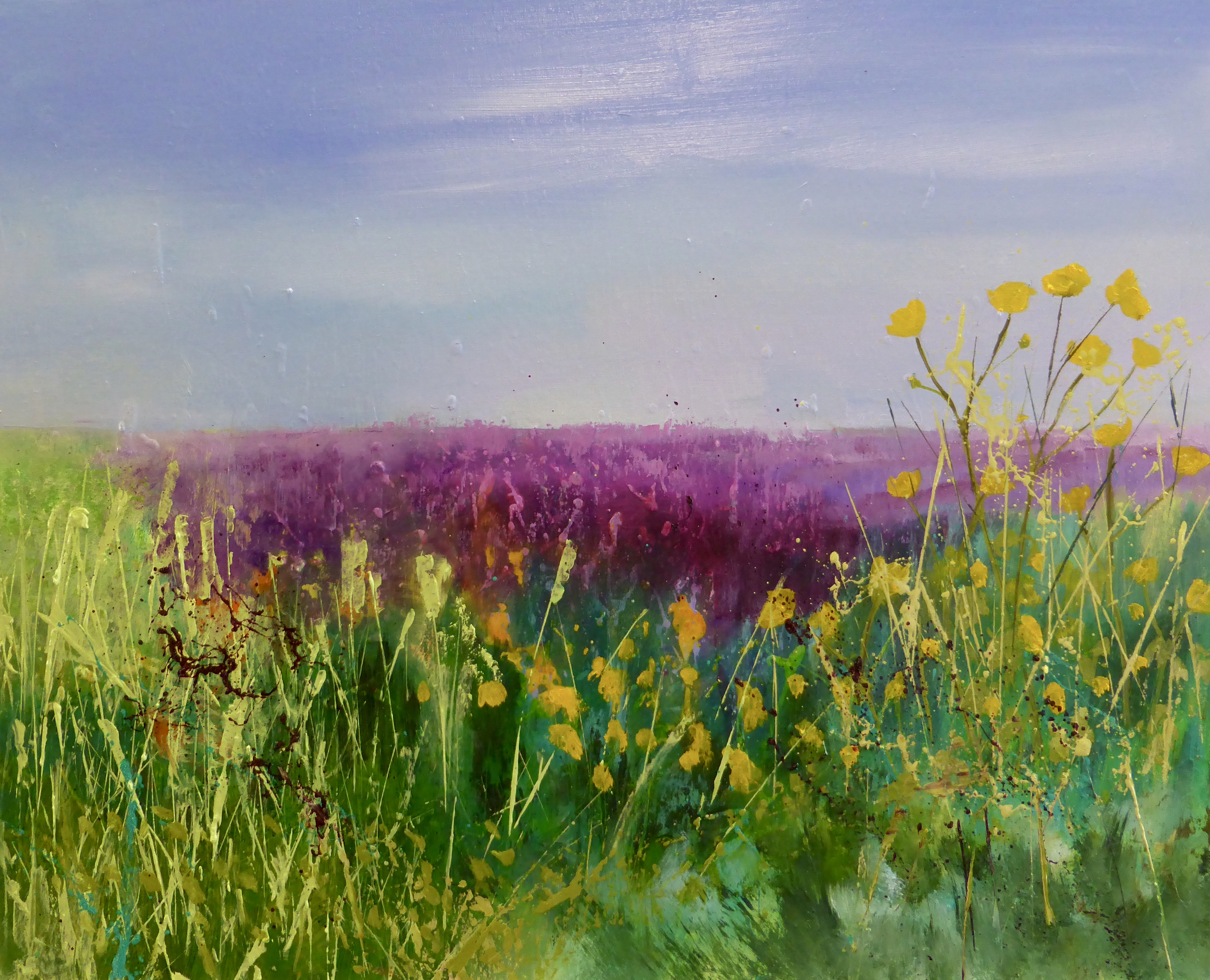 Buttercups and Lavender