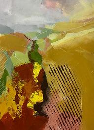 art#painting#landscape#italy#autumn#ochre#ocra#arati