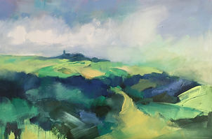 art#landscape#painting#italy#green#cocconato