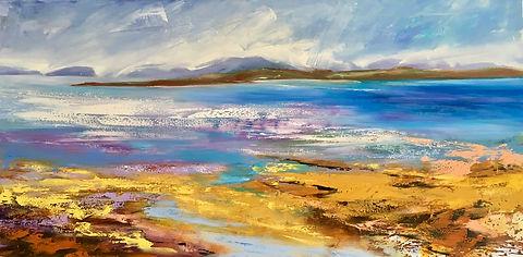painting#art#seascape#Scotland#Highlands#Beach
