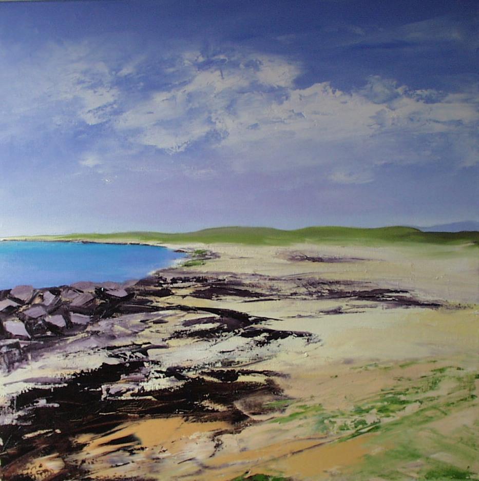 Rocky Beach, Western Ireland.