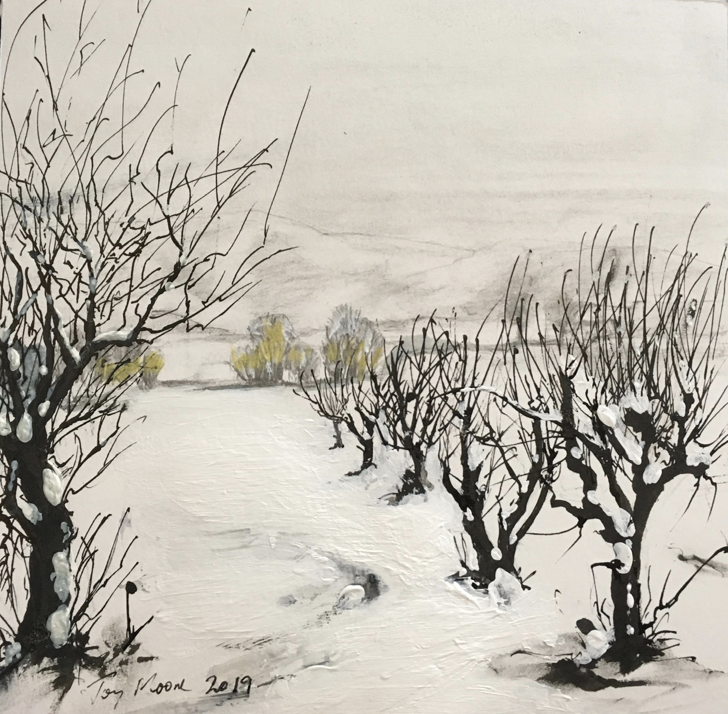Snowy Trees (Sold)
