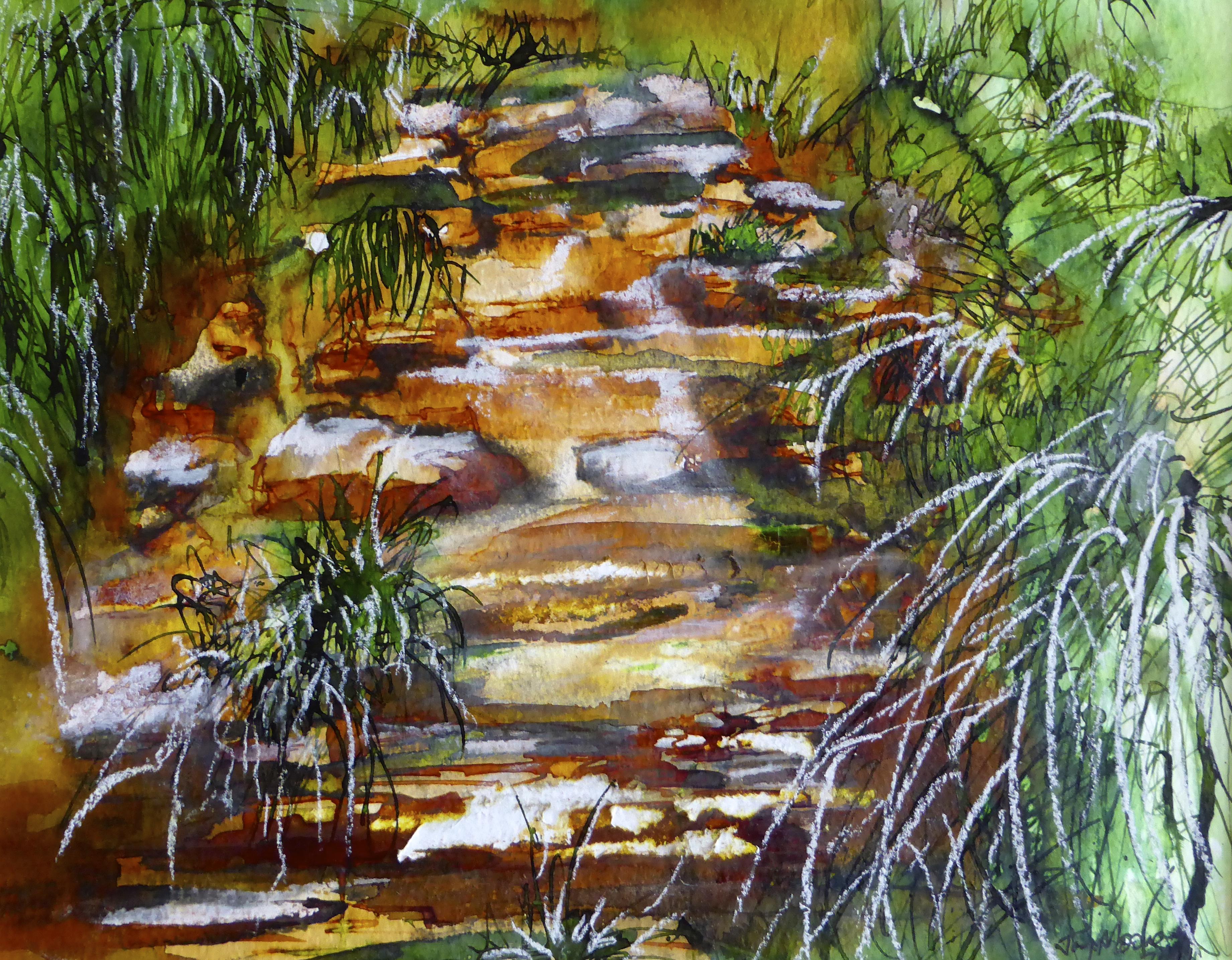 Mountain Stream (Sold)