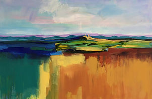 Art#painting#italy#monferrato#landscape#fields#murisengo