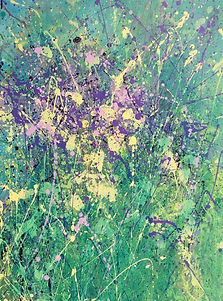 art#painting#floral#wild flowers#italian#green#summer