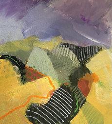 art#painting#landscape#Italy#Momferrato#vVigne#vineyards