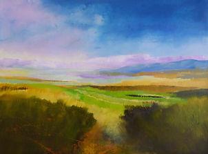 art#painting#landscape#ireland#kerry#moorland
