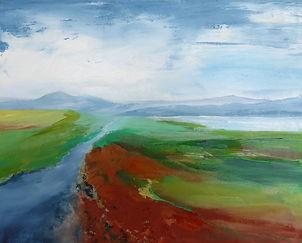 #painting#landscape#scotland#Highlands#Assynt#Loch