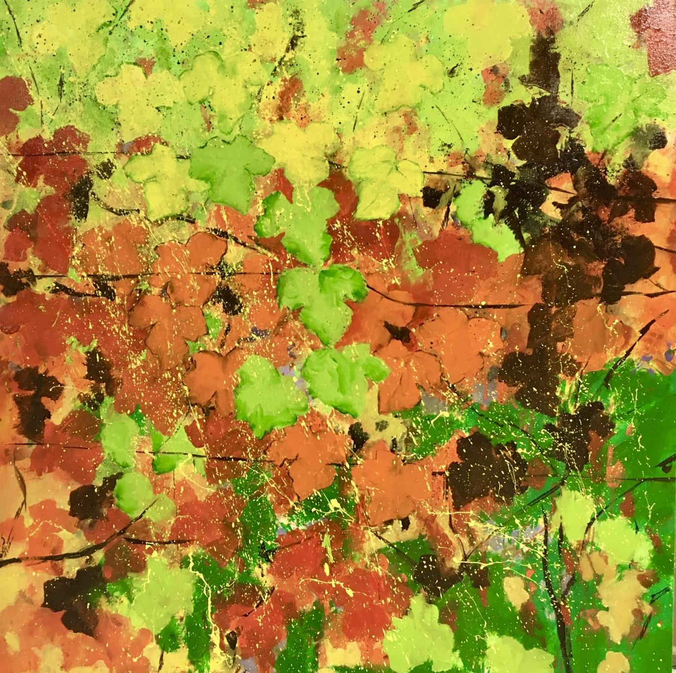 Vines in Autumn