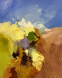 art#painting#landscape##sole#sunshine#autumn#italy