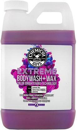 EXTREME BODY WASH & WAX 64 OZ