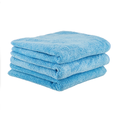 "WORKHORSE MICROFIBER TOWEL BLUE 16""X16"""
