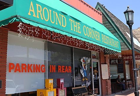 Around the Corner Restaurant. Edmond Oklahoma