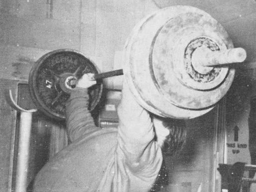 Week of 11/24 weightlifting program week 1