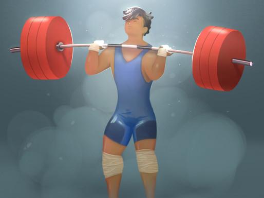 Week of 9/15 weightlifting program week 3