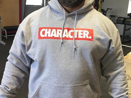 Gray CHARACTER Hoodie