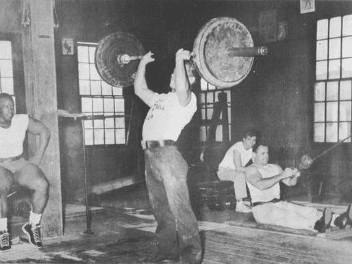 Week of 10/6 weightlifting program week 6