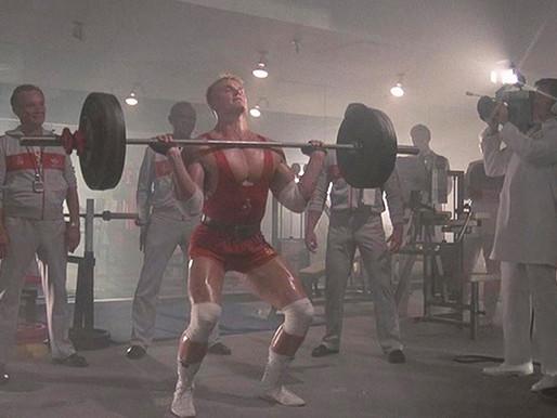 Week of 9/8 weightlifting program week 2