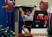 Here are various pictures of Josh Squyres competing in Olympic Weightlifting over the years and training.