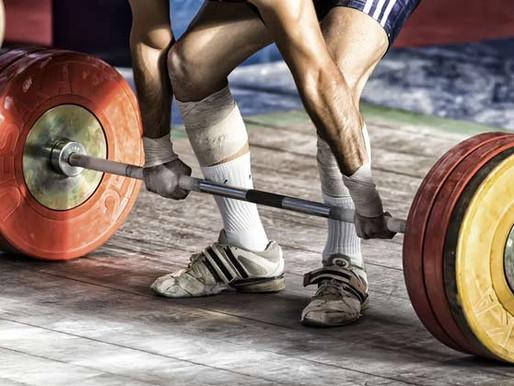 Week of 9/1 weightlifting program week 1