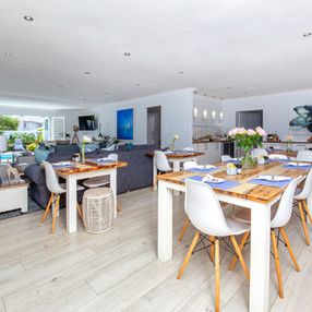Dining Area with Social Distancing
