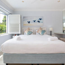 Extra Length King Size Bed with Open Security Shutters