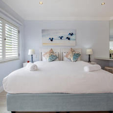 Extra Length King Size Bed with locked Shutters