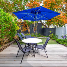 Private Deck & Garden with Loungers