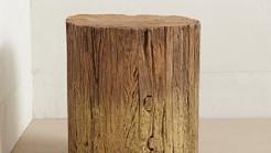 Alerta tendência: troncos de madeira