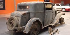 O fabuloso restauro do Citroën Rosalie