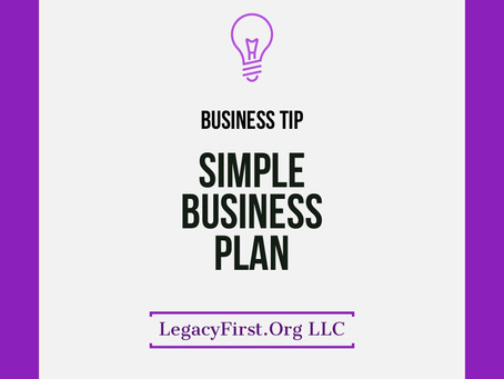 Business Plan Made Simple