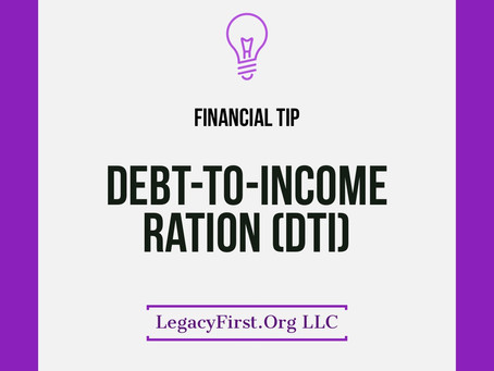 What is debt to income (DTI) and how does it effect my credit?