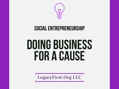 Doing Business For a Cause
