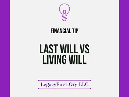 Last Will and Testament Vs Living Will, do you know the difference?